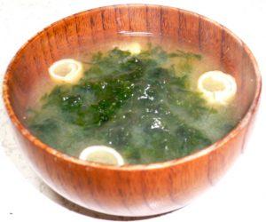 青さ味噌汁
